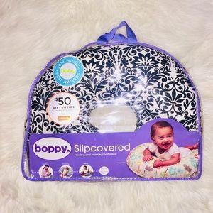 BOPPY Slipcover Feeding and Infant Support Pillow